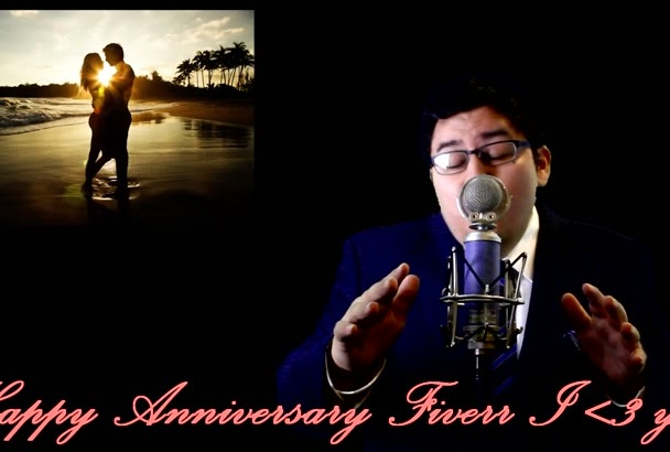 anniversary sing to your special someone