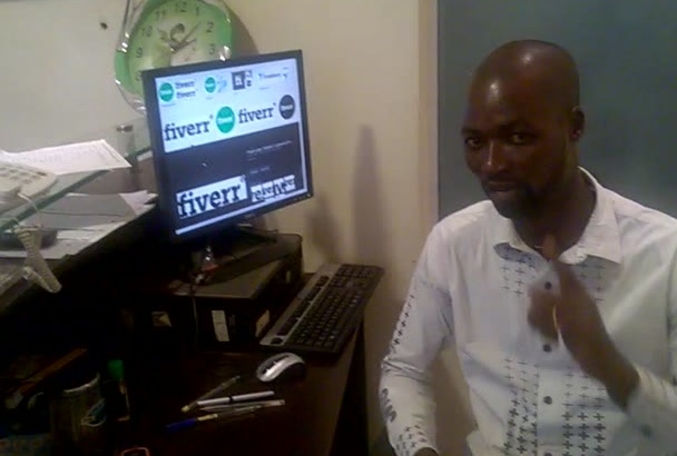 do a natural testimonial video in African, Nigeria accent
