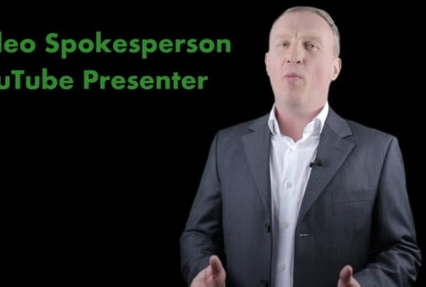 be your video presenter