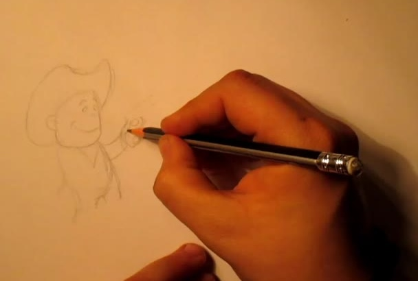 make hand drawn illustrations for your childrens book