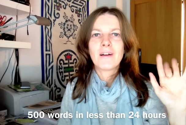 translate 500 words from English to Spanish in 24h