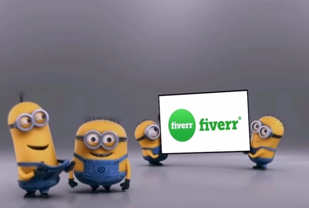 make a Minion Promo for your Company