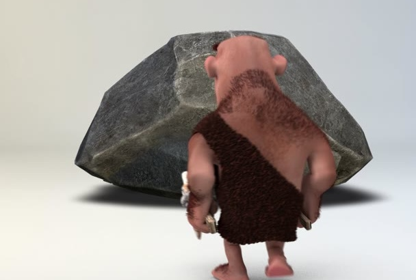 do this Caveman Animation for YOU
