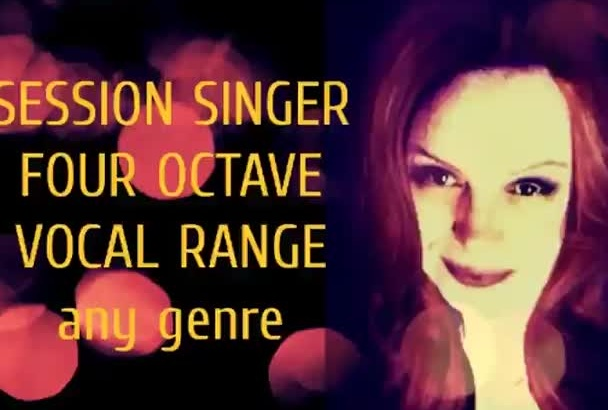 be your professional jazz and blues singer sultry voice