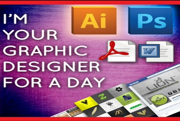 do graphic design work