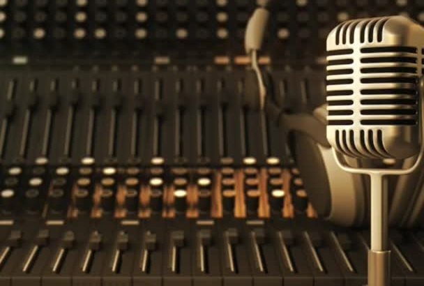 record quality voiceovers for your project