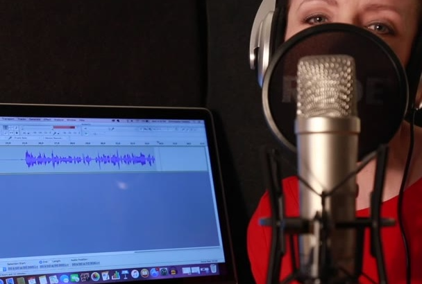 record the BEST British voiceover