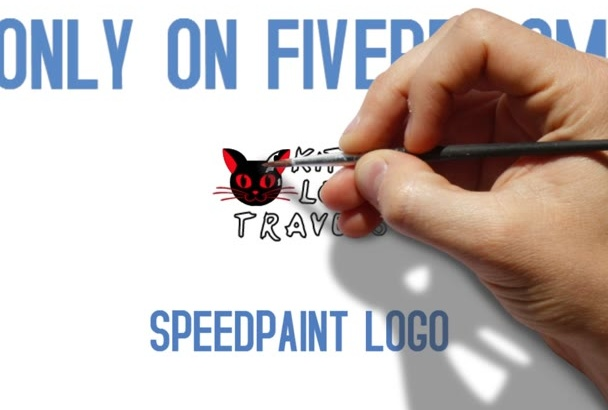 create an INTRO speed drawing of your logo