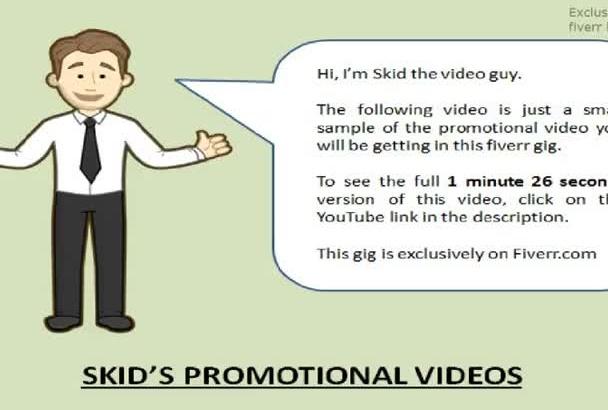 provide a real estate broker promotional video
