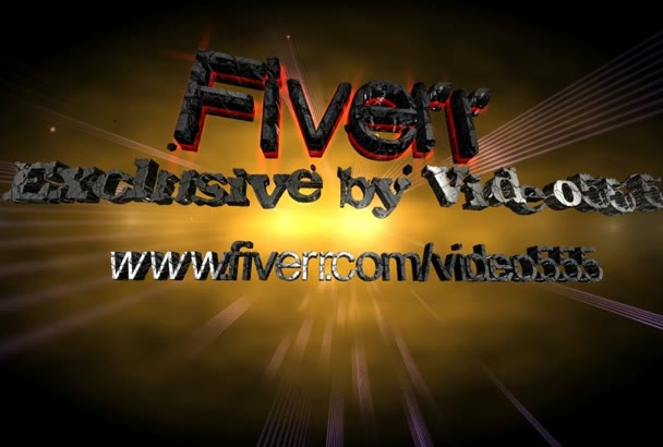 create AMAZING Video Intro 08
