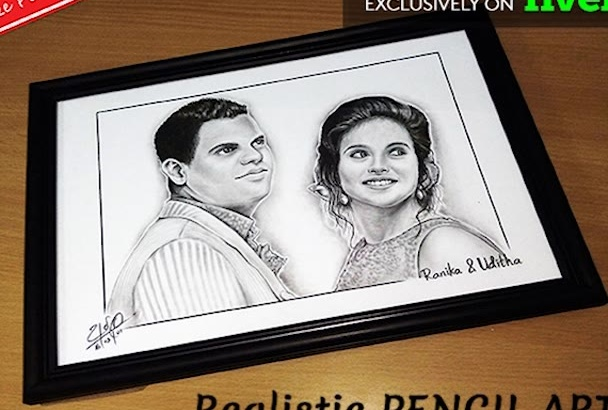 do your personalized PENCIL Art which value for a lifetime
