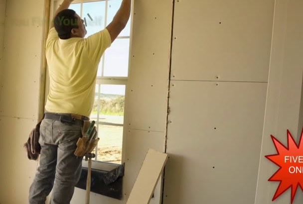 provide 4 videos for Drywall Contractor