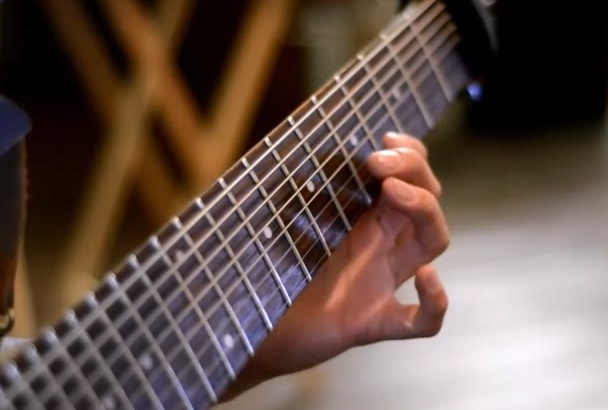 create an instrumental  djent song for you