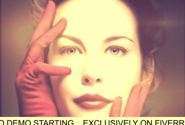 design an Amazing Vintage Style Video in HD Format