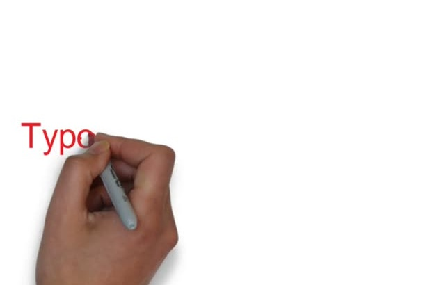 manually Type upto 20 page data entry