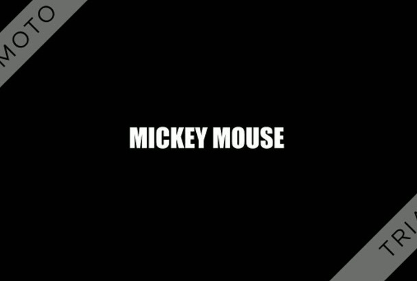 record your message as Mickey Mouse