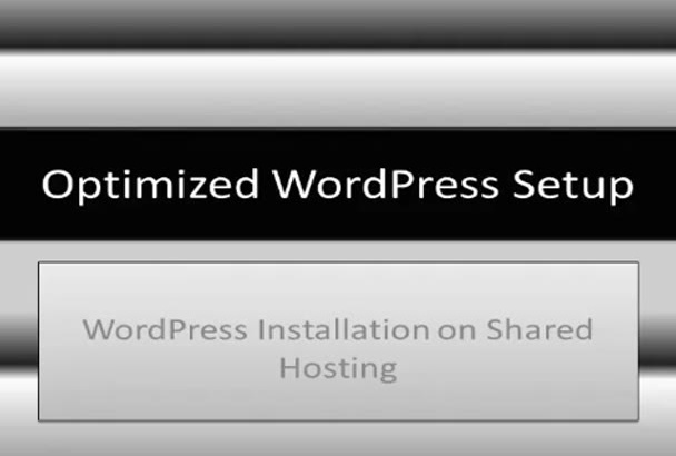install WordPress on Shared Hosting and make it secure