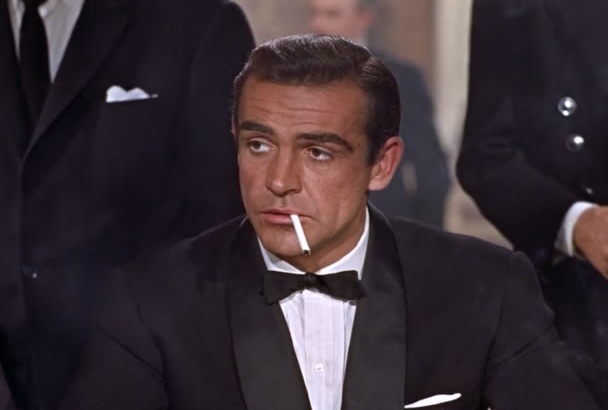 be Sean Connery at his most Macho