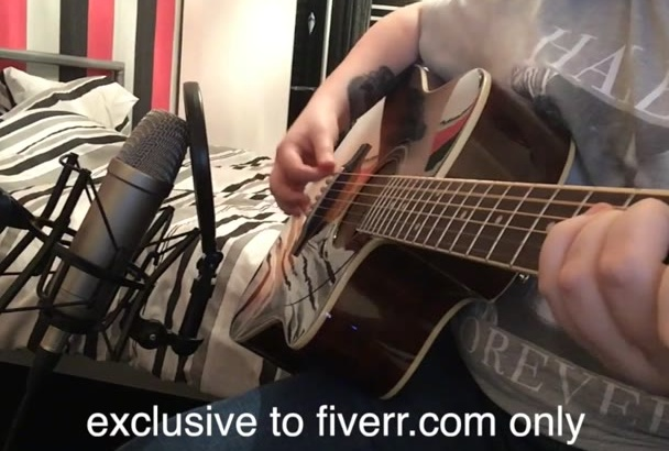 record acoustic guitar for you