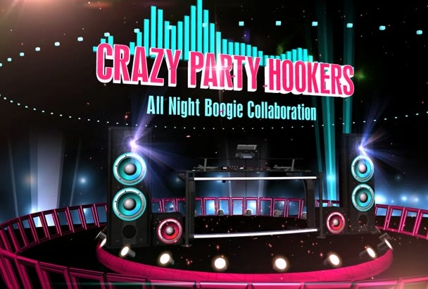 create this DJ Party Entertainment video intro