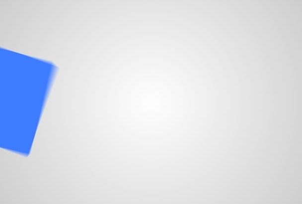 create an AMAZING video logo intro