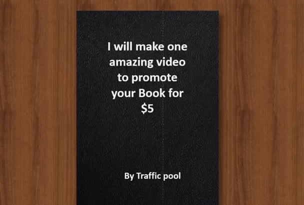 make amazing video to promote your Book