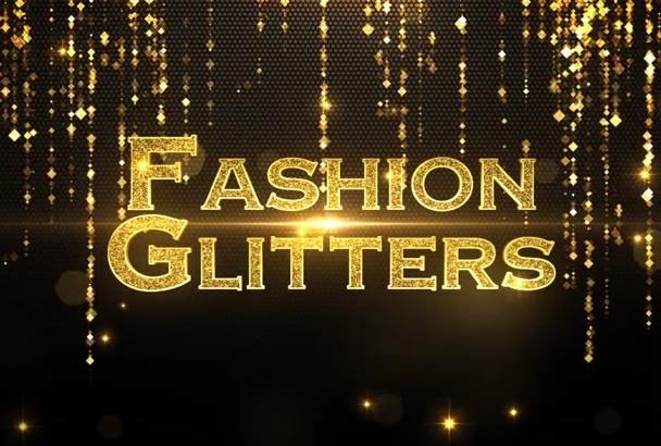 create a Fashion Gladiators intro video