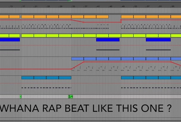 make special RAP beat just for You