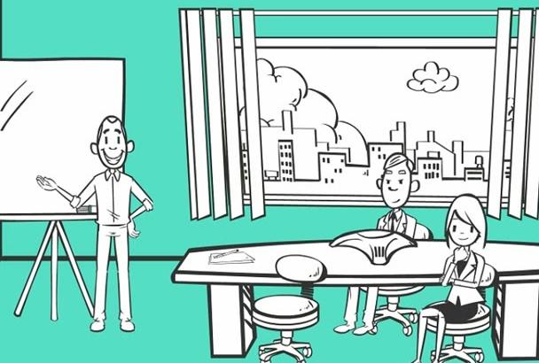crear vídeo animado en pizarra