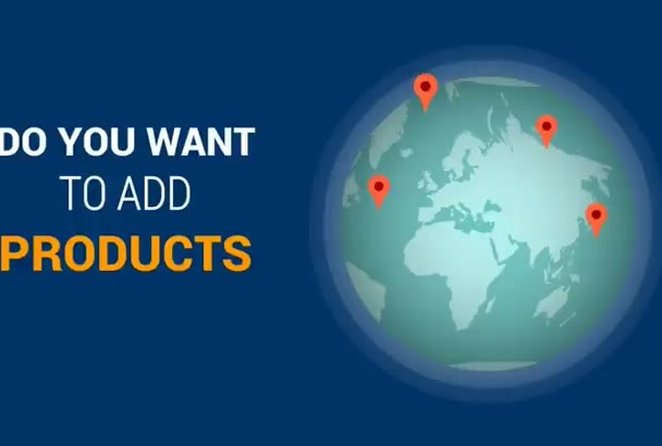 add 50 products in your store