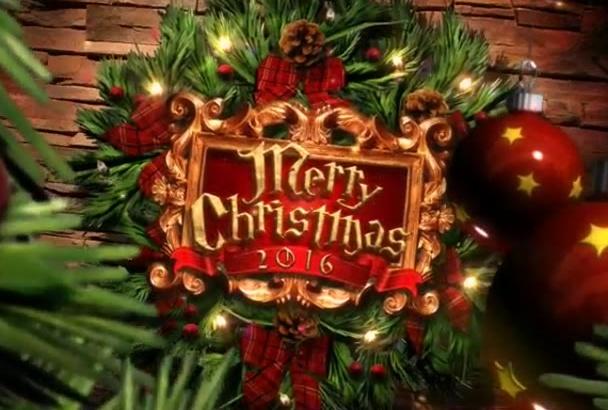 make This Stunning Christmas Intro