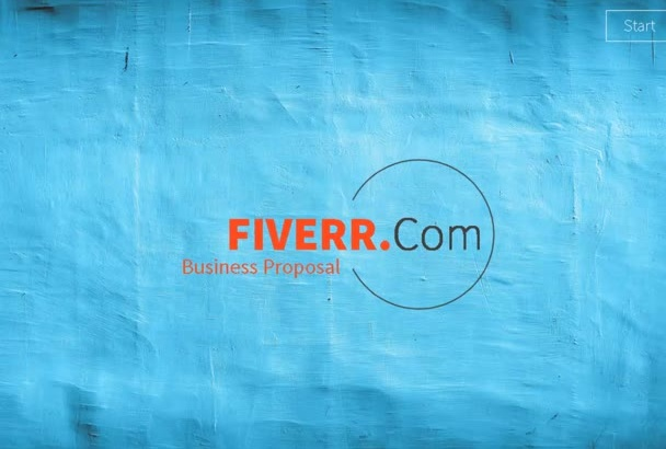 send a professional Power point Template for Your business Plan