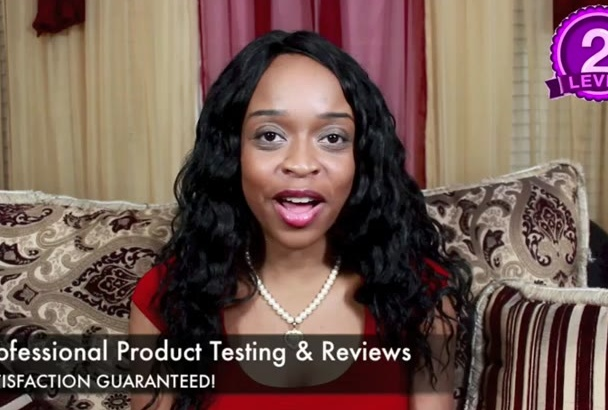 try and review your hair and beauty products