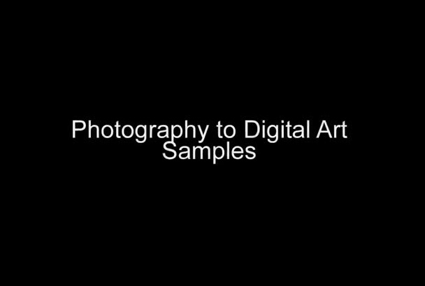 create digital artwork with your photograph