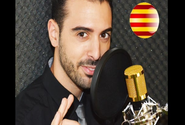 grabar un audio en catalán neutro de Barcelona