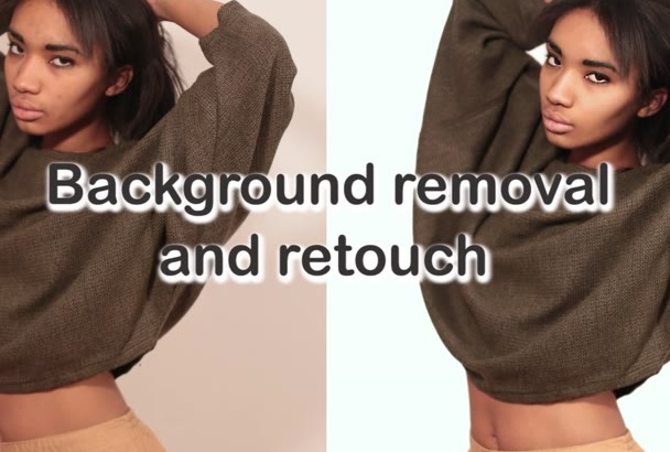 remove background and retouch 20