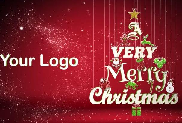 make this Christmas video intro