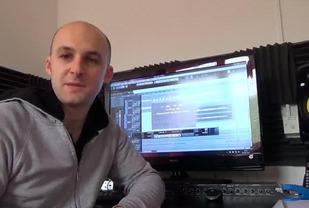 master your audio track