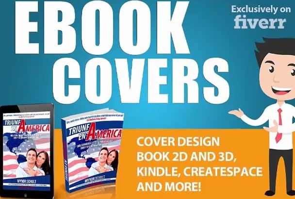 design Ebook Cover, kindle book cover