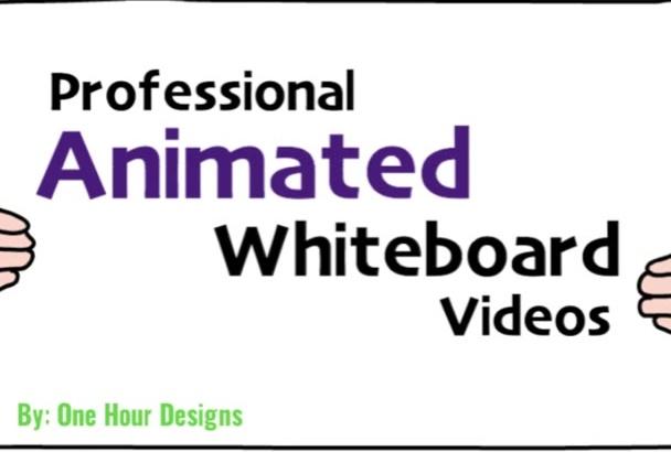 create Whiteboard Marketing Videos