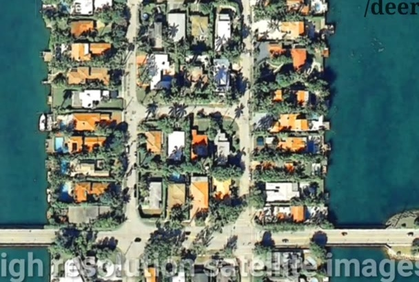 create a stunning high resolution satellite image for you
