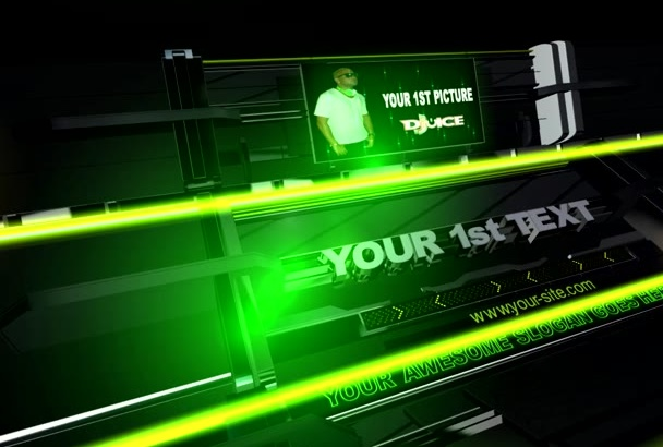 professionally Green video HD intro
