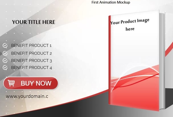 create 3 Amazing Animation Product Mockup Videos for Your Products