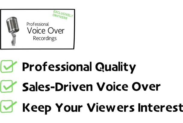 record Voiceover for Video Marketing