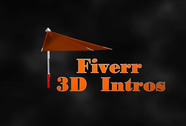 make stunning 3D intros and animation logo
