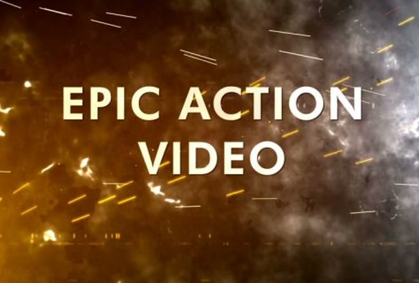 create an epic action promo for you
