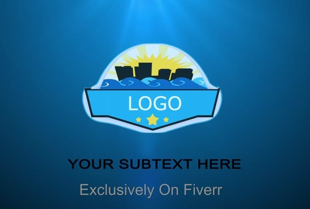 create Amazing Flying Pieces Logo Intro Video