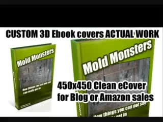 design a Kindle book cover and 3D ebook cover