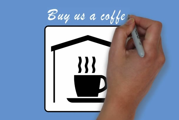 let you buy me a cup of coffee