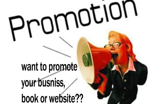 create a promotional video for you